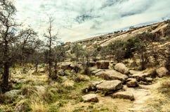 Roccia incantata il Texas Immagine Stock