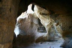 Roccia interna di Cappadocia Immagini Stock