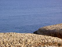 Roccia & mare Fotografia Stock Libera da Diritti