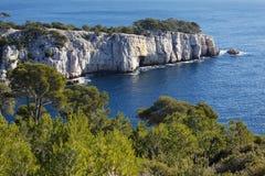 Roccia mediterranea Immagine Stock