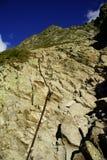 Roccia in montagne Immagini Stock
