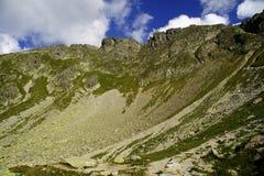 Roccia in montagne Fotografia Stock
