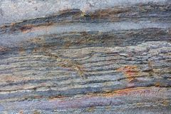 Roccia naturale, fondo di pietra dettagliato immagine stock