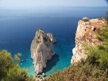 Roccia nel mare 2 Fotografia Stock Libera da Diritti