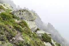 Roccia nel Tatras Immagini Stock Libere da Diritti