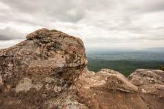 Roccia nella montagna Immagini Stock