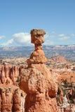 Roccia nella sosta nazionale del canyon di Bryce Immagini Stock Libere da Diritti