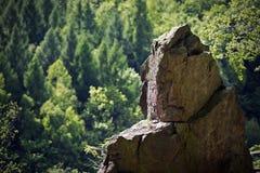 Roccia nelle montagne Fotografia Stock Libera da Diritti