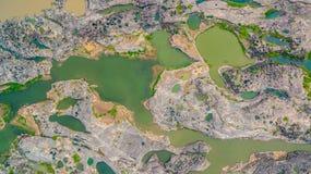 roccia non vista di 3000 bok una bella del Mekong Immagine Stock Libera da Diritti