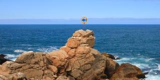 Roccia oceanica Immagine Stock