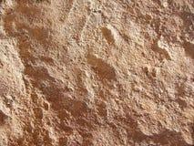 Roccia ocracea Fotografia Stock