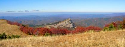 Roccia Panno della montagna Fotografia Stock