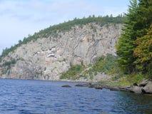 Roccia in Pembroke Il Canada, America settentrionale Immagini Stock