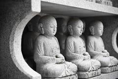 Roccia Buddha Immagini Stock