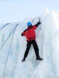 Roccia-scalatore Immagini Stock
