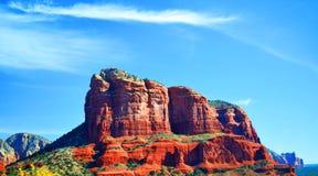 Roccia in Sedona, Arizona della cattedrale fotografia stock libera da diritti