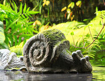 Roccia Snail1 Immagini Stock Libere da Diritti