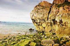 Roccia sola Fotografia Stock