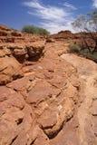 Roccia stratificata a Canyon del re immagine stock libera da diritti