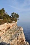 Roccia su Dugi Otok Fotografia Stock