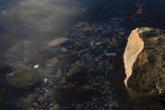 Roccia subacquea Immagini Stock