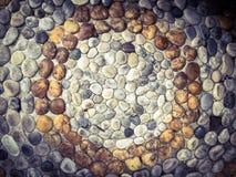 Roccia sul pavimento Immagini Stock