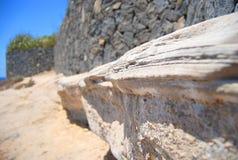 Roccia in Tenerife Fotografia Stock
