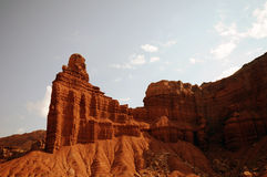 Roccia Utah del camino Fotografie Stock