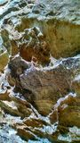 Roccia variopinta Fotografia Stock Libera da Diritti