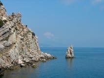 Roccia-vela Fotografia Stock