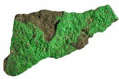 Roccia verde Fotografia Stock