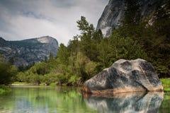 Roccia in Yosemite Fotografia Stock