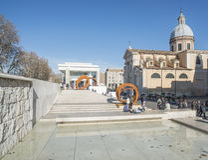 Rocco Ρώμη Ιταλία Ευρώπη μουσείων pacis Ara και του ST εκκλησιών Στοκ Εικόνες