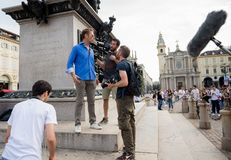 Rocco Siffredi meets his fans in Turin - Italy Stock Images