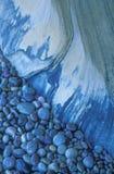 Rocha azul e pedras Imagem de Stock