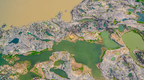 rocha bonita despercebida de 3000 bok de Mekong Fotos de Stock