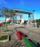 Rocha bridges stock images