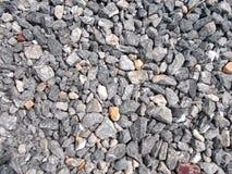 Rocha cinzenta e teste padrão de pedra, fundos da textura foto de stock royalty free