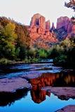 Rocha da catedral, Sedona o Arizona fotos de stock