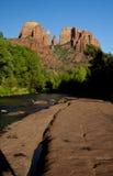 Rocha da catedral, Sedona o Arizona Imagem de Stock Royalty Free