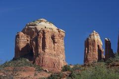 Rocha da catedral, Sedona o Arizona Imagem de Stock