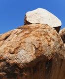 Rocha da cebola de mármores dos diabos Fotografia de Stock