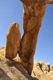 Rocha da coluna no parque nacional Fotografia de Stock Royalty Free