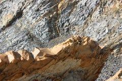 Rocha da costa de mar Imagem de Stock