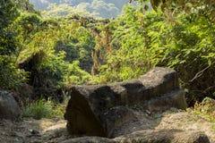 A rocha da forma do caixão Imagens de Stock