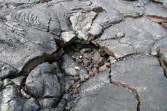 Rocha da lava Foto de Stock Royalty Free