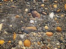 Rocha da mistura do cimento, fundo concreto da textura Fotos de Stock Royalty Free
