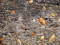 Rocha da mistura do cimento, fundo concreto da textura Fotografia de Stock Royalty Free