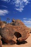 Rocha da onda na Austrália Ocidental Fotografia de Stock