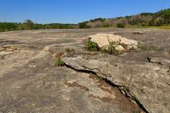 Rocha da pedra calcária Imagem de Stock